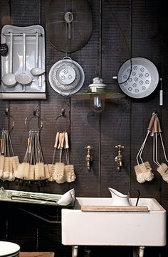 Recent Media and Comments in Kitchen - Modern Furniture, Home Designs & Decoration Ideas Brass Tap, Urban Rustic, Georgian Homes, French Country Cottage, Brick And Mortar, Retail Space, Shop Interiors, Retail Shop, At Home Store