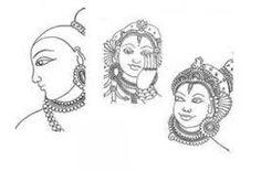 Image result for kerala mural basics pencil