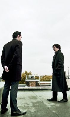 Moriarty and #Sherlock - The Reichenbach Fall