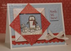 folded-paper frame card - Google Search