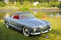 My dream car! I need dis, red interior and all! vw karmann ghia! Thanks to my Dad, I'll always be obsessed with VWs.