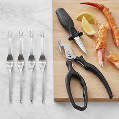 de Buyer Seafood Tools Set #williamssonoma