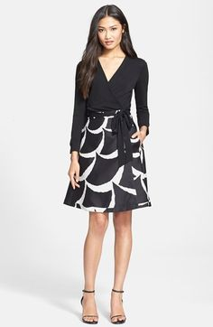 Diane+von+Furstenberg+'Amelia'+Woven+Dress+available+at+#Nordstrom