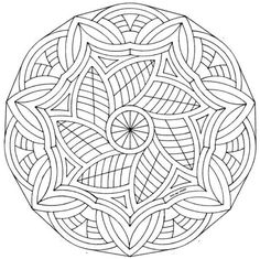 great for prayer: detailed mandala coloring sheets Mandala Coloring Pages, Coloring Book Pages, Coloring Sheets, Colorful Drawings, Colorful Pictures, Celtic Mandala, Coloring Pages For Grown Ups, Zentangle Patterns, Zentangles