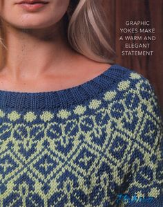 "Photo from album ""Vogue Knitting Winter on Yandex. Vogue Knitting, Hand Knitting, Chunky Knitting Patterns, Knitting Designs, Knit Patterns, Icelandic Sweaters, Knitting Magazine, Fair Isle Pattern, Sweater Design"