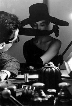 Fashion photo by Frank Horvat, Harper's Bazaar 1962.