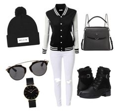 """""""Sporty outfit"""" by umniyastyle on Polyvore featuring Blondo, Fendi, Christian Dior and CLUSE"""