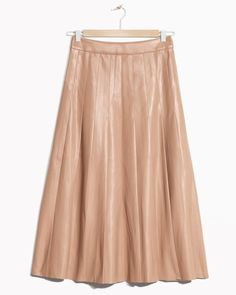 Leather skirt, £65, & Other Stories