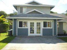 convert exterior garage door with windows | and affordable garage conversion. We just replaced the garage door ...