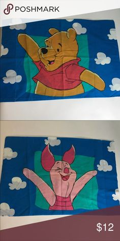 Winnie the Pooh Vintage 1992 Winnie The Pooh pillow case Very good condition Disney Accessories
