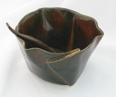 Hand+Built+Pottery+Ideas | Hilborn Pottery Multi Purpose Dish - Cinnamon