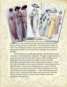 The Creative Doll: Historical Fashion