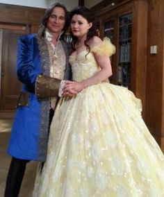 belle and gold dancing once upon a time - Google Search