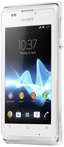 """Sony Xperia E - Smartphone libre Android (pantalla 3.5"""", cámara 3.2 Mp, 4 GB, 1 GHz, 512 MB RAM), blanco [importado] - http://www.tiendasmoviles.net/2013/12/sony-xperia-e-smartphone-libre-android-pantalla-3-5-camara-3-2-mp-4-gb-1-ghz-512-mb-ram-blanco-importado/"""
