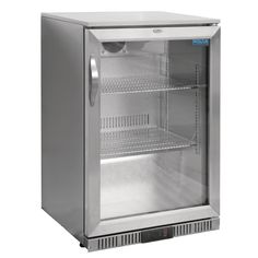 Buy This Polar Stainless Steel Hinged Single Bottle Cooler At Competitive Prices From Brakes Catering Equipment! Stainless Steel Hinges, Stainless Steel Bottle, Beer Fridge, Bar Displays, Wine Shelves, Back Bar, Small Bottles, Commercial Construction, Single Doors