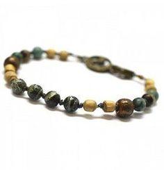 Energy Muse Green Tara Yoga Jewelry Bracelet - 8142746