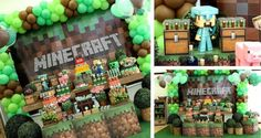 Fun Minecraft Party Decorating Ideas