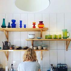mmm. najs. #vintageglass #glass #colours #interior #design #wzornictwo #lata60 #1960s #lata70 #1970s #kitchen #pottery #ceramika #szkło #lifestyle #sopot #slowlife #porcelit #horbowy #pijaczewska #mirostowice