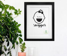 Snapper girl Irish slang Irish Poster Irish by ThatsSoIrish