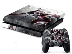War Custom King Sticker for PS4 PlayStation 4 Console Controller Skin
