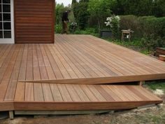 Getting The Most Out Of A Deck With Patio Designs – Pool Landscape Ideas Wooden Walkways, Wooden Decks, Patio Deck Designs, Patio Design, Porch With Ramp, Ramp Design, Hot Tub Deck, Porch Accessories, House Deck