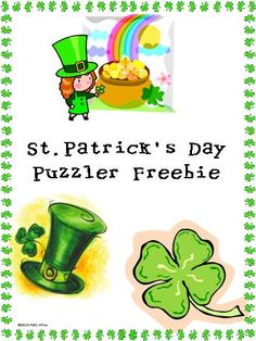 St. Patrick's Day freebie! repinned by @PediaStaff – Please Visit http://ht.ly/63sNt for all our pediatric therapy pins