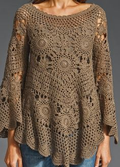 The free crochet patterns shape twisted like a lacy fabric and is made with two different needles that have hairgrips the tips. This manual...