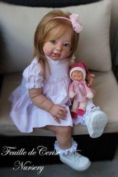 Feuille de Cerise Nursery - reborn toddler PROTOTYPE Adrie Stoete doll poupée   eBay