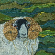 Art prints and greetings cards from original Harris Tweed pictures by Northumberland textile artist Jane Jackson. Jane's unique, distinctive and colourful designs feature Northumberland, Scotland, Cumbria, British wildlife & birds. Jane Jackson, Felt Pictures, Fabric Pictures, Landscape Art Quilts, Wool Quilts, Textiles, Thread Painting, Bird Prints, Animal Prints