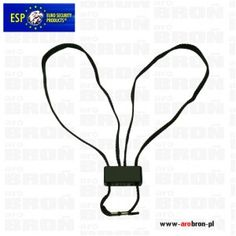 Kajdanki sznurkowe jednorazowe ESP HT-01-B czarne 1szt. - kompaktowe, lekkie, szybkie w zakładaniu, wytrzymałość 140 kg.
