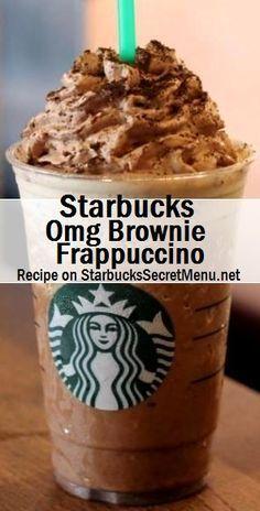 Starbucks OMG Brownie Frappuccino! #StarbucksSecretMenu Recipe here: http://starbuckssecretmenu.net/omg-brownie-frappuccino-starbucks-secret-menu/