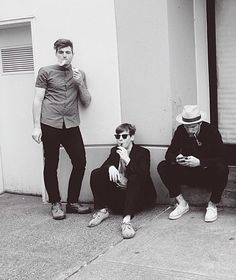Foster The People smokin hot. Literally :)