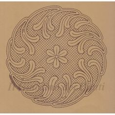 Centro rotondo con margherite n. 221 Crochet Motif, Irish Crochet, Centre, Lorem Ipsum, Embroidery, Illustration, Pattern, Handmade, Farmhouse Rugs