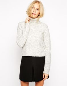 Sweater with Roll Neck