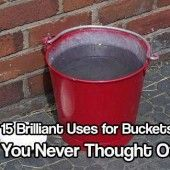 15 Brilliant Uses for Buckets