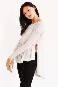 Truly Madly Deeply Phoebe Babydoll Sweatshirt