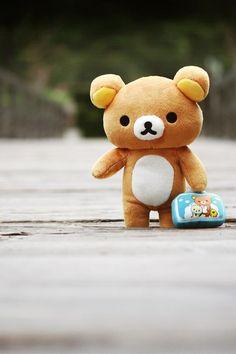 Rilakkuma plush bear (I want a small one though) Rilakkuma Plushie, Plushies, Kawaii Shop, Kawaii Cute, Kawaii Stuff, Kawaii Things, Rilakkuma Wallpaper, Hamster, Japanese Characters