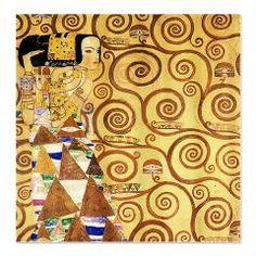 Gustav Klimt The Expectance Shower Curtain Art World Curtains Bathroom