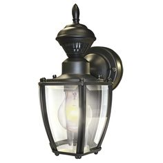 Shop portfolio 115 in h black motion activated outdoor wall light shop portfolio 115 in h black motion activated outdoor wall light at lowes home exterior pinterest outdoor walls walls and lights aloadofball Image collections