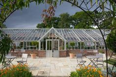 A beautiful bespoke Hartley Botanic glasshouse, in the Tees Valley, UK. #Greenhouse #Greenhouses #Glasshouse #Glasshouses #Garden #Gardens #Gardening #GardenChat #HartleyBotanic