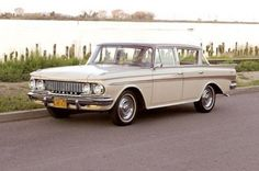 1962 rambler - This model was my first car.  An oil guzzler!  I could be seen for miles with my cloud of blue smoke.  Tom Mc.