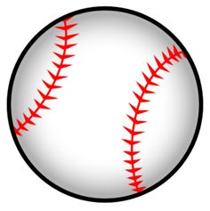 free printable baseball clip art images inch circle punch or rh pinterest com baseball clipart images free baseball clipart images black and white