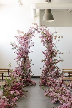 Workshops — SOIL AND STEM Natural Installations for wedding ceremony free-standing arch, purple flowers, wild, organic ceremony arch. Floral Wedding Decorations, Wedding Flowers, Aisle Flowers, Arch Wedding, Purple Wedding, Diy Wedding, Wedding Favors, Flower Installation, Floral Arch