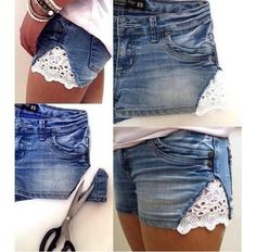 Quick and easy way to make boring old pants turn into gorgeous stylish pants it comes with a bonus it's quick and easy and costs nothing
