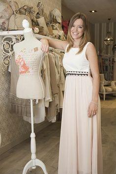 Vestido nude 65€