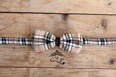 #‎bowtie‬ Tartan Beige with Black Leather Detail ---> For info and enquiries contact our crew at: info@gwpstyle.com