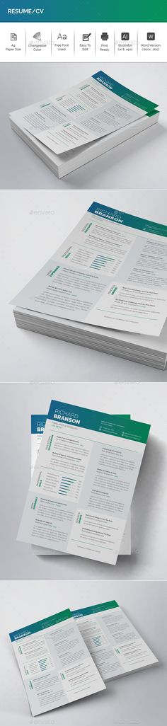 Business Resume Vol 2 Business resume, Business and Buy business - is a cv a resume