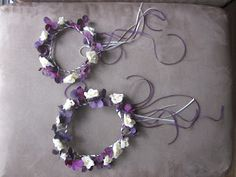 Weieroriginal: Crafting Project: Flower Girl headpieces with ribbons