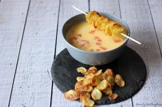 [Rezept] Weiße Tomatensuppe mit Kartoffelchips ~ Beauty Butterflies