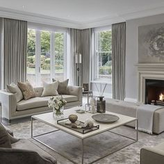 Diy Easy Home Decor 48 Stunning Formal Living Room Decor Ideas To Get A Neat Impression.Diy Easy Home Decor 48 Stunning Formal Living Room Decor Ideas To Get A Neat Impression Living Room Interior, Home Living Room, Living Room Designs, Curtains In Living Room, Apartment Living, Living Area, Classy Living Room, Formal Living Rooms, Modern Living